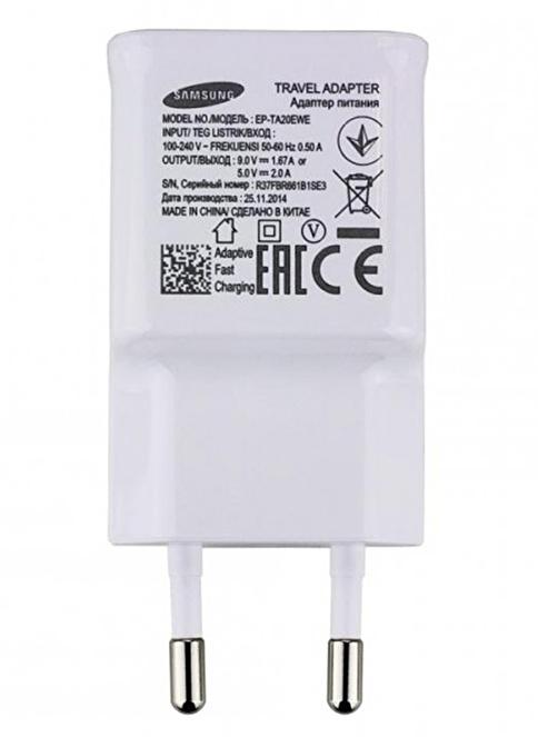 Samsung Şarj Adaptörü EP-TA20EWE (Kutusuz) Beyaz